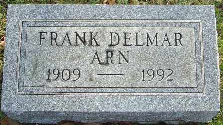ARN, FRANK DELMAR - Franklin County, Ohio | FRANK DELMAR ARN - Ohio Gravestone Photos