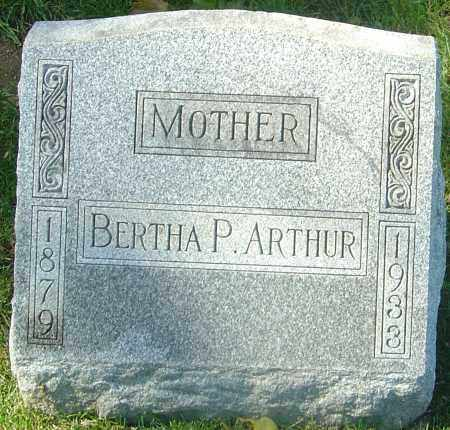 ARTHUR, BERTHA - Franklin County, Ohio | BERTHA ARTHUR - Ohio Gravestone Photos
