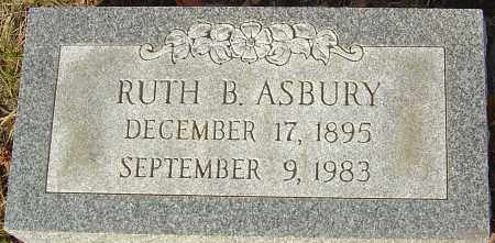 ASBURY, RUTH B - Franklin County, Ohio | RUTH B ASBURY - Ohio Gravestone Photos