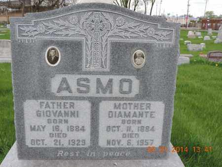 ASMO, DIAMANTE - Franklin County, Ohio | DIAMANTE ASMO - Ohio Gravestone Photos
