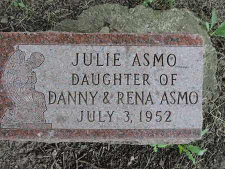 ASMO, JULIE - Franklin County, Ohio | JULIE ASMO - Ohio Gravestone Photos