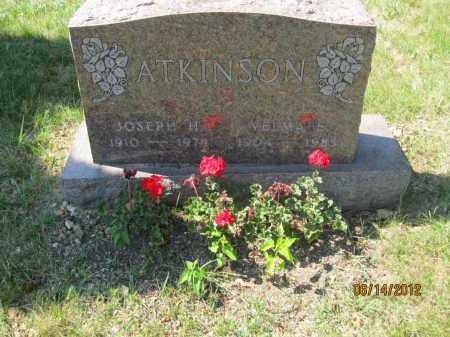 ATKINSON, VELMA E - Franklin County, Ohio | VELMA E ATKINSON - Ohio Gravestone Photos