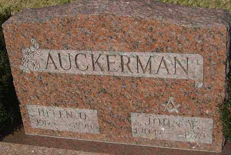 AUCKERMAN, HELEN - Franklin County, Ohio | HELEN AUCKERMAN - Ohio Gravestone Photos