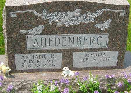 AUFDENBERG, ARMAND R - Franklin County, Ohio | ARMAND R AUFDENBERG - Ohio Gravestone Photos