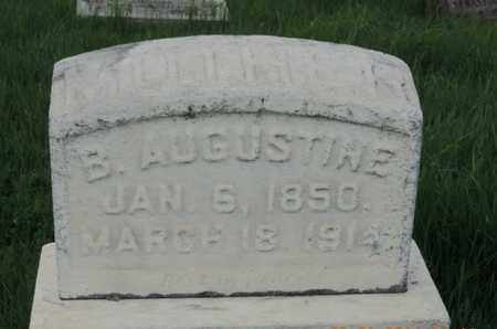 AUGUSTINE, B. - Franklin County, Ohio | B. AUGUSTINE - Ohio Gravestone Photos