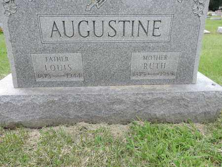 AUGUSTINE, LOUIS - Franklin County, Ohio | LOUIS AUGUSTINE - Ohio Gravestone Photos