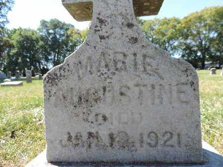 AUGUSTINE, MARIE - Franklin County, Ohio | MARIE AUGUSTINE - Ohio Gravestone Photos