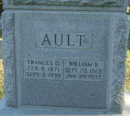 AULT, FRANCES - Franklin County, Ohio | FRANCES AULT - Ohio Gravestone Photos