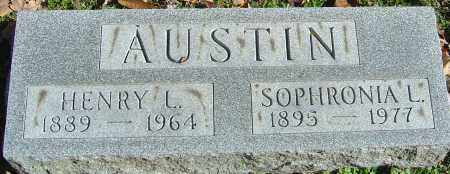 AUSTIN, SOPHRONIA - Franklin County, Ohio | SOPHRONIA AUSTIN - Ohio Gravestone Photos