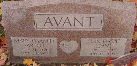 AVANT, MARY - Franklin County, Ohio | MARY AVANT - Ohio Gravestone Photos