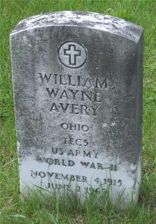 AVERY, WILLIAM WAYNE - Franklin County, Ohio | WILLIAM WAYNE AVERY - Ohio Gravestone Photos