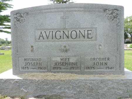 AVIGNONE, JOSEPHINE - Franklin County, Ohio | JOSEPHINE AVIGNONE - Ohio Gravestone Photos