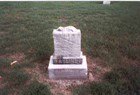 AXLINE, HAROLD D. - Franklin County, Ohio | HAROLD D. AXLINE - Ohio Gravestone Photos