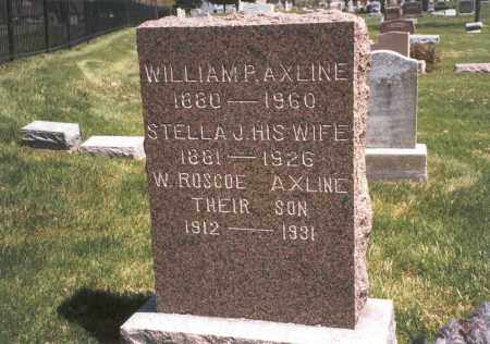 AXLINE, WILLIAM P - Franklin County, Ohio | WILLIAM P AXLINE - Ohio Gravestone Photos
