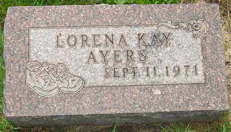 AYERS, LORENA - Franklin County, Ohio | LORENA AYERS - Ohio Gravestone Photos