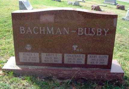 BUSBY, MARY ELLEN - Franklin County, Ohio | MARY ELLEN BUSBY - Ohio Gravestone Photos