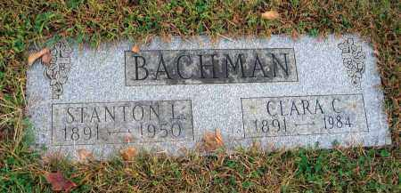 BACHMAN, STANTON L. - Franklin County, Ohio | STANTON L. BACHMAN - Ohio Gravestone Photos