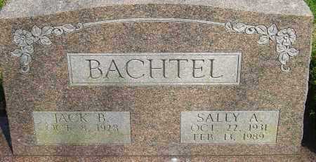 HOLCOMB BACHTEL, SALLY A - Franklin County, Ohio | SALLY A HOLCOMB BACHTEL - Ohio Gravestone Photos