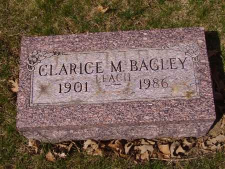 BAGLEY, CLARICE M. - Franklin County, Ohio | CLARICE M. BAGLEY - Ohio Gravestone Photos