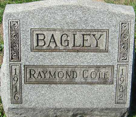 BAGLEY, RAYMOND COLE - Franklin County, Ohio | RAYMOND COLE BAGLEY - Ohio Gravestone Photos