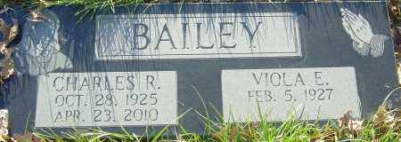 BAILEY, CHARLES R - Franklin County, Ohio | CHARLES R BAILEY - Ohio Gravestone Photos