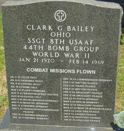 BAILEY, CLARK GRISWALD - Franklin County, Ohio | CLARK GRISWALD BAILEY - Ohio Gravestone Photos