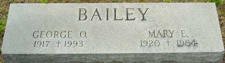 BAILEY, GEORGE - Franklin County, Ohio | GEORGE BAILEY - Ohio Gravestone Photos