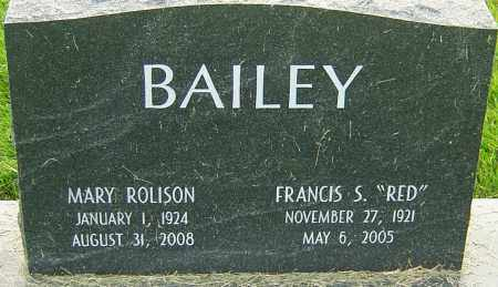BAILEY, MARY - Franklin County, Ohio | MARY BAILEY - Ohio Gravestone Photos