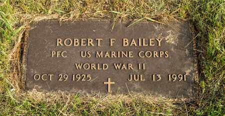 BAILEY, ROBERT F. - Franklin County, Ohio | ROBERT F. BAILEY - Ohio Gravestone Photos