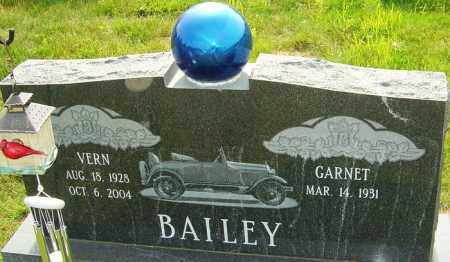 BAILEY, VERN - Franklin County, Ohio | VERN BAILEY - Ohio Gravestone Photos