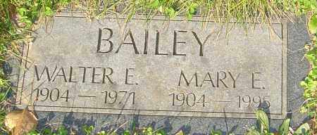 BAILEY, WALTER - Franklin County, Ohio | WALTER BAILEY - Ohio Gravestone Photos
