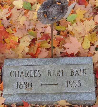 BAIR, CHARLES BERT - Franklin County, Ohio | CHARLES BERT BAIR - Ohio Gravestone Photos