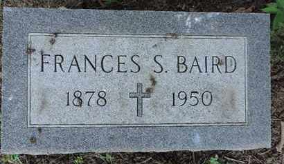 BAIRD, FRANCES S. - Franklin County, Ohio | FRANCES S. BAIRD - Ohio Gravestone Photos
