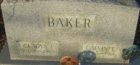 BAKER, GLADYS - Franklin County, Ohio | GLADYS BAKER - Ohio Gravestone Photos