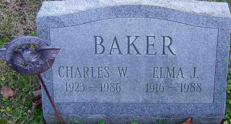 BAKER, ELMA - Franklin County, Ohio | ELMA BAKER - Ohio Gravestone Photos