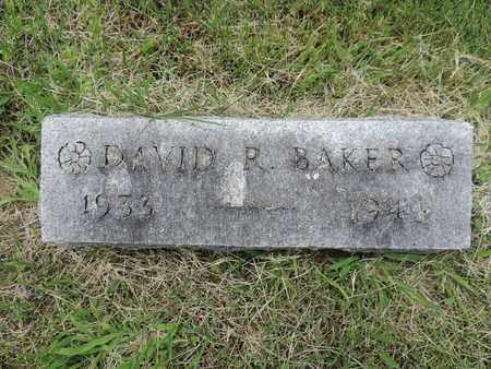 BAKER, DAVID R. - Franklin County, Ohio | DAVID R. BAKER - Ohio Gravestone Photos