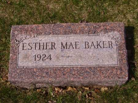 BAKER, ESTHER MAE - Franklin County, Ohio | ESTHER MAE BAKER - Ohio Gravestone Photos