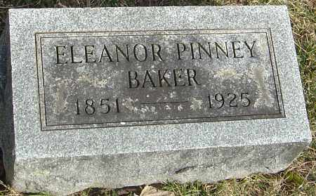 BAKER, ELEANOR - Franklin County, Ohio | ELEANOR BAKER - Ohio Gravestone Photos