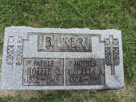 BAKER, HOLLIE O - Franklin County, Ohio | HOLLIE O BAKER - Ohio Gravestone Photos