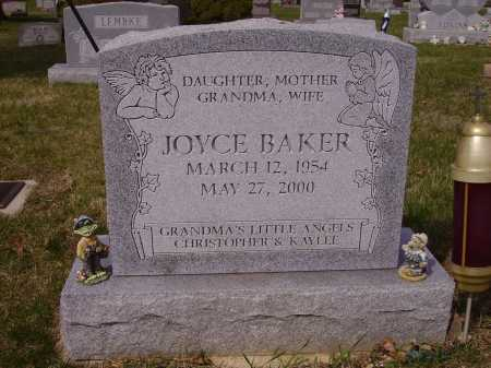 BAKER, JOYCE - Franklin County, Ohio | JOYCE BAKER - Ohio Gravestone Photos