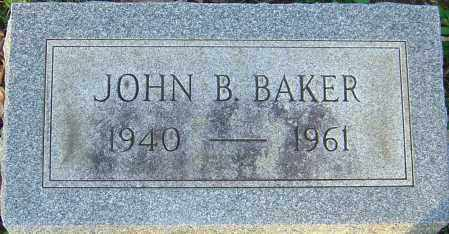 BAKER, JOHN - Franklin County, Ohio | JOHN BAKER - Ohio Gravestone Photos