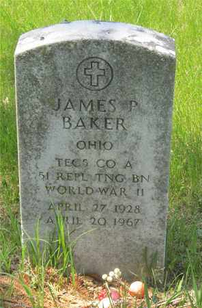 BAKER, JAMES P. - Franklin County, Ohio | JAMES P. BAKER - Ohio Gravestone Photos