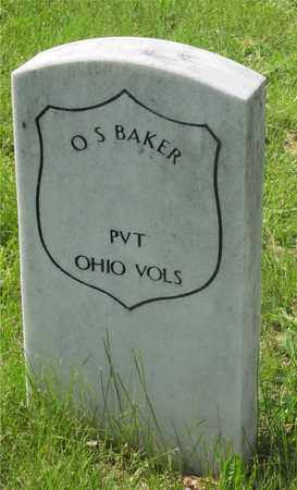 BAKER, O.S. - Franklin County, Ohio | O.S. BAKER - Ohio Gravestone Photos