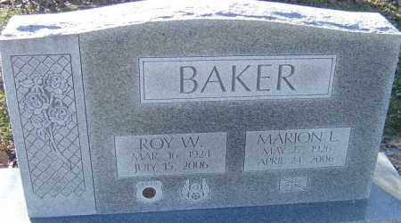 BAKER, MARION L - Franklin County, Ohio | MARION L BAKER - Ohio Gravestone Photos