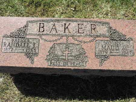 BAKER, MAUD M. - Franklin County, Ohio | MAUD M. BAKER - Ohio Gravestone Photos
