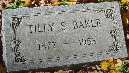BAKER, TILLY S - Franklin County, Ohio | TILLY S BAKER - Ohio Gravestone Photos