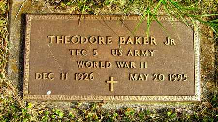 BAKER, THEODORE - Franklin County, Ohio | THEODORE BAKER - Ohio Gravestone Photos