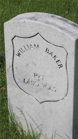 BAKER, WILLIAM - Franklin County, Ohio | WILLIAM BAKER - Ohio Gravestone Photos