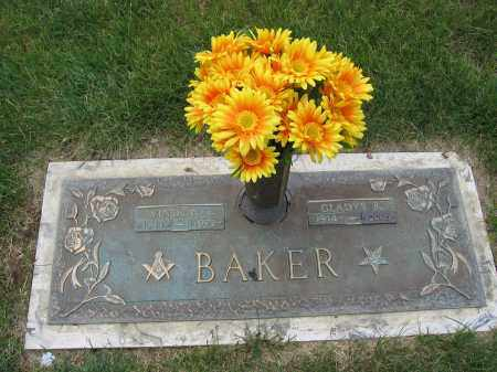 BAKER, GLADYS B. - Franklin County, Ohio | GLADYS B. BAKER - Ohio Gravestone Photos