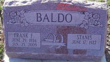 BALDO, FRANK F - Franklin County, Ohio | FRANK F BALDO - Ohio Gravestone Photos